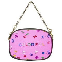 Pattern Desktop Sign Aerial Chain Purses (one Side)