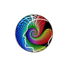 Head Spiral Self Confidence Hat Clip Ball Marker