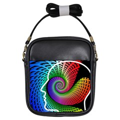 Head Spiral Self Confidence Girls Sling Bags