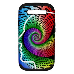 Head Spiral Self Confidence Samsung Galaxy S Iii Hardshell Case (pc+silicone)