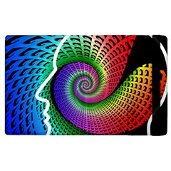 Head Spiral Self Confidence Apple Ipad 3/4 Flip Case by Sapixe