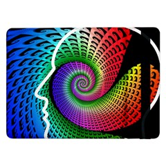Head Spiral Self Confidence Samsung Galaxy Tab Pro 12 2  Flip Case by Sapixe