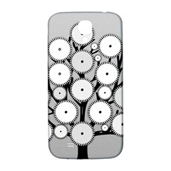 Gears Tree Structure Networks Samsung Galaxy S4 I9500/i9505  Hardshell Back Case