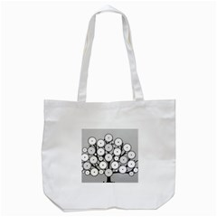 Gears Tree Structure Networks Tote Bag (white)