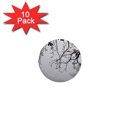 Tree Nature Landscape 1  Mini Buttons (10 Pack)  by Sapixe
