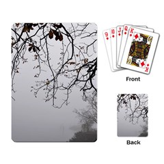 Tree Nature Landscape Playing Card