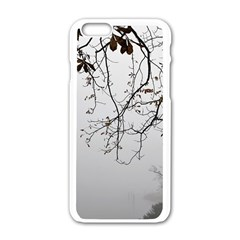 Tree Nature Landscape Apple Iphone 6/6s White Enamel Case