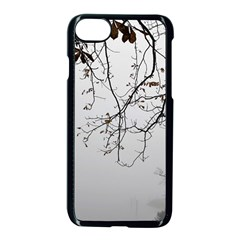 Tree Nature Landscape Apple Iphone 8 Seamless Case (black)