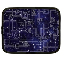 Networks Internet Social Netbook Case (xxl)