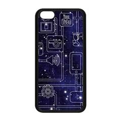 Networks Internet Social Apple Iphone 5c Seamless Case (black)