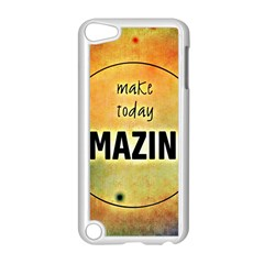 Beautiful Day Cheerful Munter Apple Ipod Touch 5 Case (white)