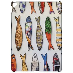 Fish Sardines Motive Pattern Apple Ipad Pro 12 9   Hardshell Case