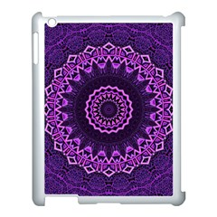 Mandala Purple Mandalas Balance Apple Ipad 3/4 Case (white)