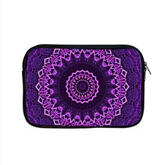 Mandala Purple Mandalas Balance Apple Macbook Pro 15  Zipper Case by Sapixe