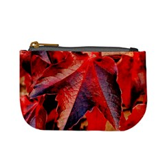 Wine Partner Wild Vine Leaves Plant Mini Coin Purses by Sapixe