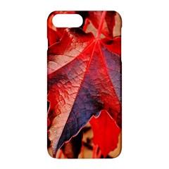 Wine Partner Wild Vine Leaves Plant Apple Iphone 8 Plus Hardshell Case by Sapixe