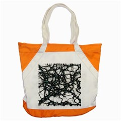 Mindset Neuroscience Thoughts Accent Tote Bag by Sapixe