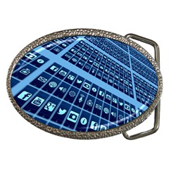 Mobile Phone Smartphone App Belt Buckles