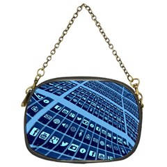 Mobile Phone Smartphone App Chain Purses (two Sides)