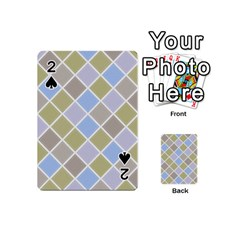 Background Paper Texture Motive Playing Cards 54 (mini)