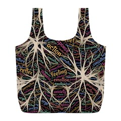 Mental Human Experience Mindset Full Print Recycle Bags (l)