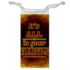 Motivation Live Courage Enjoy Life Jewelry Bags