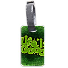 Motivation Live Courage Enjoy Life Luggage Tags (two Sides) by Sapixe