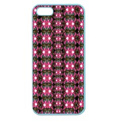 Butterflies In A Wonderful Forest Of Climbing Flowers Apple Seamless Iphone 5 Case (color)