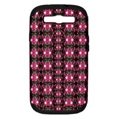 Butterflies In A Wonderful Forest Of Climbing Flowers Samsung Galaxy S Iii Hardshell Case (pc+silicone)