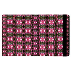 Butterflies In A Wonderful Forest Of Climbing Flowers Apple Ipad Pro 9 7   Flip Case