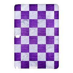 Square1 White Marble & Purple Brushed Metal Samsung Galaxy Tab Pro 10 1 Hardshell Case