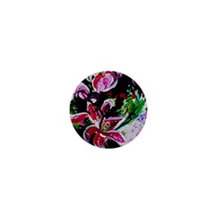 Lilac And Lillies 3 1  Mini Buttons by bestdesignintheworld