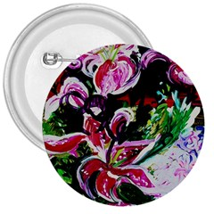 Lilac And Lillies 3 3  Buttons by bestdesignintheworld