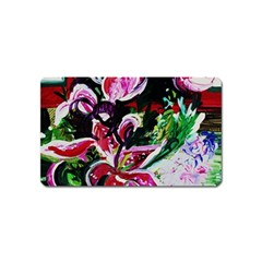 Lilac And Lillies 3 Magnet (name Card) by bestdesignintheworld