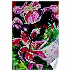 Lilac And Lillies 3 Canvas 20  X 30   by bestdesignintheworld