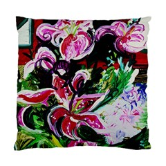 Lilac And Lillies 3 Standard Cushion Case (one Side)