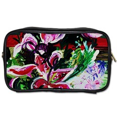 Lilac And Lillies 3 Toiletries Bags