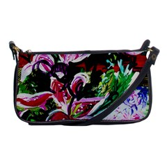 Lilac And Lillies 3 Shoulder Clutch Bags by bestdesignintheworld