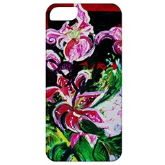 Lilac And Lillies 3 Apple Iphone 5 Classic Hardshell Case by bestdesignintheworld