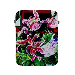 Lilac And Lillies 3 Apple Ipad 2/3/4 Protective Soft Cases by bestdesignintheworld