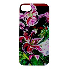 Lilac And Lillies 3 Apple Iphone 5s/ Se Hardshell Case