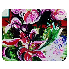 Lilac And Lillies 3 Double Sided Flano Blanket (medium)