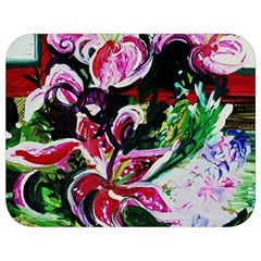 Lilac And Lillies 3 Full Print Lunch Bag by bestdesignintheworld