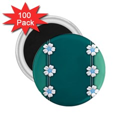 Design Texture Background Love 2 25  Magnets (100 Pack)