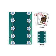 Design Texture Background Love Playing Cards (mini)