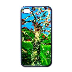 Coral Tree 2 Apple Iphone 4 Case (black)