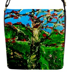 Coral Tree 2 Flap Messenger Bag (s) by bestdesignintheworld