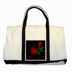 Background Texture Stain Two Tone Tote Bag