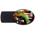 Collosium   Swards And Helmets 3 USB Flash Drive Oval (2 GB) Front