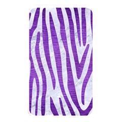 Skin4 White Marble & Purple Brushed Metal Memory Card Reader